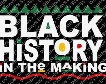 Black History in the Making SVG DXF Cutting File