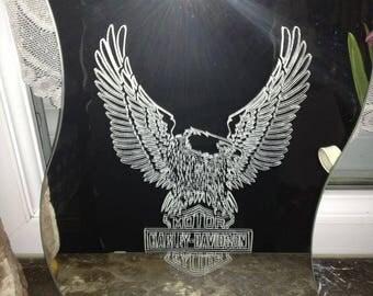 Harley davidson Eagle mirror
