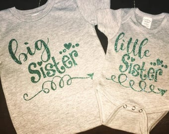 Big sister & little sister shirts