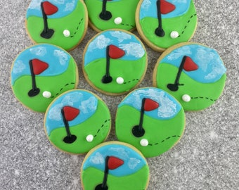 Golf Cookies, Fore! Sports Cookies