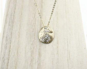 (Lion) zodiac sign necklace Choker of neck COFA12019