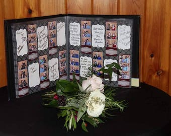 Scrapbook with Photo Strip Paper
