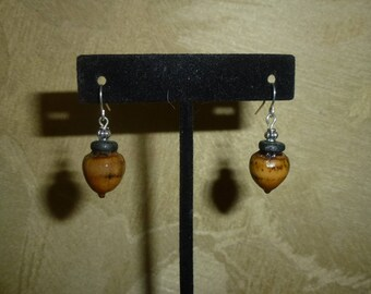 Acorn Earrings #201
