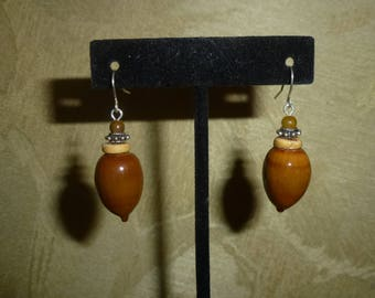 Acorn Earrings #211