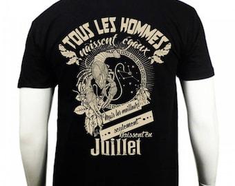 T-shirt the cancer zodiac sign