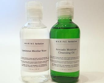 Cleasing Oil + Micellar Water (Makeup Remover)