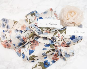 FREE SHIPPING / Set Of 6 Bridesmaid Floral Robes for getting ready / Bridal Robes / Wedding Robes / Bridal Party Gifts / Bridal Shower Gifts