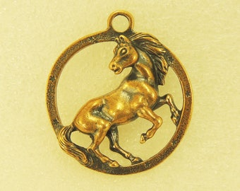 Keychain The Horse In The Circle