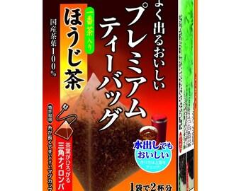 Premium Ito En Japanese Roasted Green Tea with Matcha Bags Hojicha - ほうじ茶