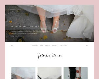 Renee: Minimal Blogger theme, responsive Blogger template, blogspot theme