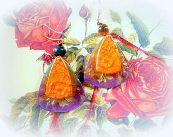 """""""Daum Crystal"""" earrings"""