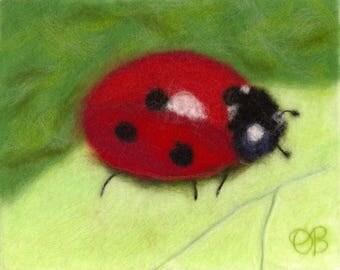 Ladybug, Ladybug Art, Ladybug Decor, Ladybug Decoration, Ladybug Gift, Ladybug Baby Shower, Ladybug Birthday, Baby Shower Gift, Nursery Art