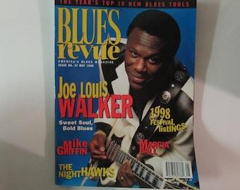 Blues Revue Magazine, May 1998, Joe Louis Walker
