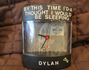 "Bob Dylan Dyl-Time Clock for ""Saved"" album"
