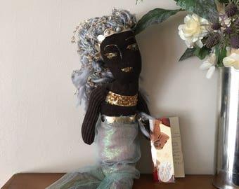 Espresso mermaid doll