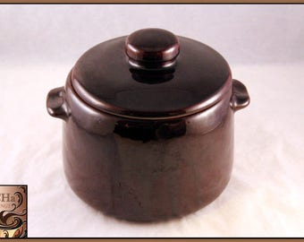 Vintage 1950's West Bend Bean Pot