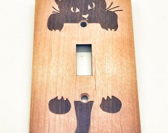 Clawing Cat - Switch plate
