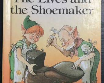 Vintage Ladybird Book-The Elves and the Shoemaker