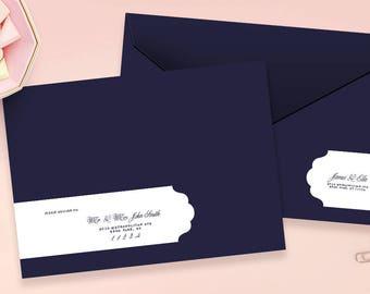 Wedding Address Labels, Wrap Around Labels, Address Labels, Envelope Wrap, Address Sticker, Guest Address Labels, Wedding Invitation Labels