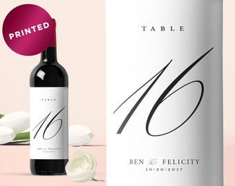 Wine Table Number, Table Numbers, Wedding Table Number, Wine Bottle Table Number, Wedding Wine Table Number, Wine Bottle Table Number
