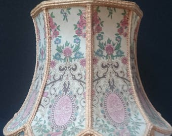 Vintage Chinese style Pagode Lamp shade French early 20th century