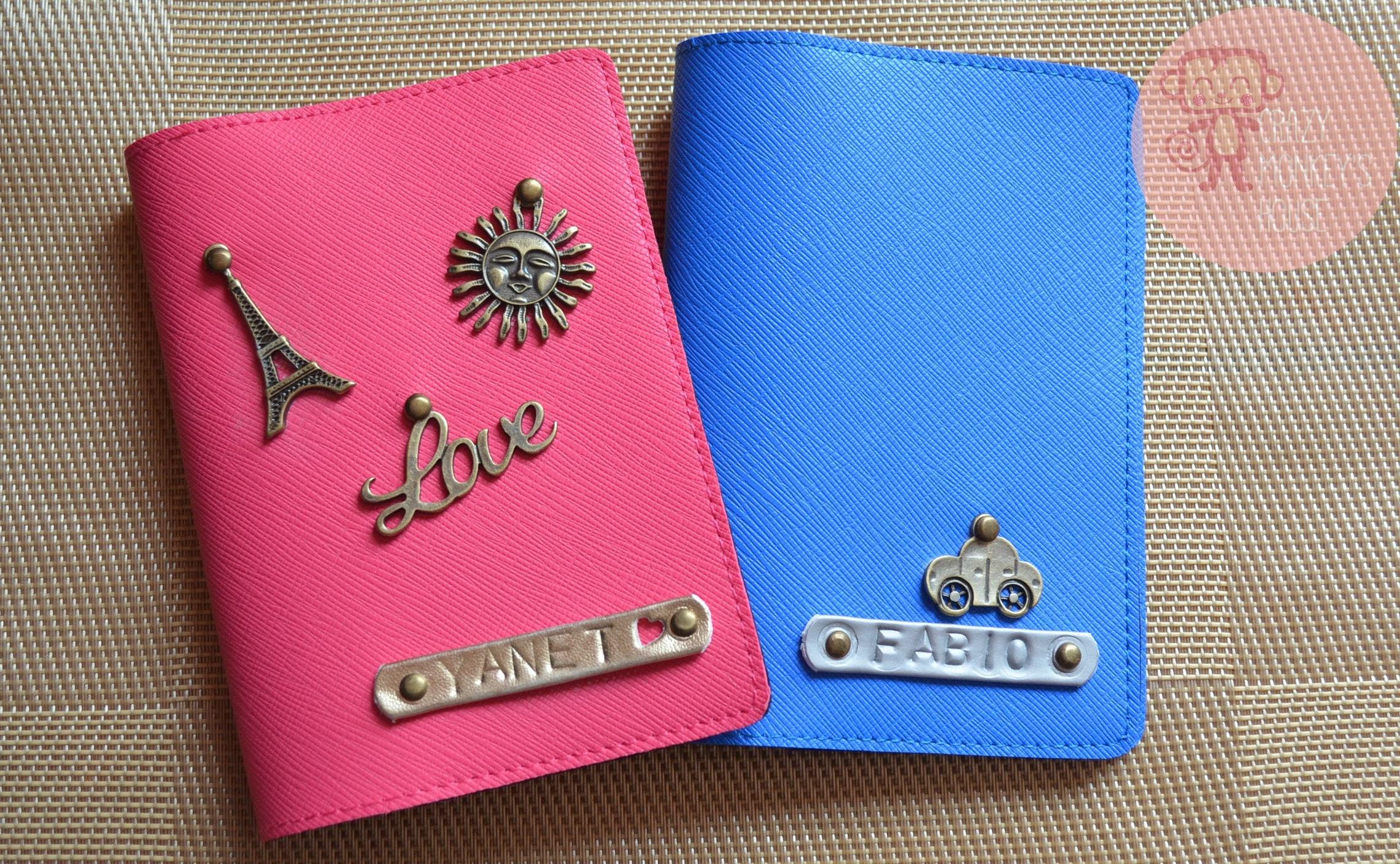 personalized passport cover/customized passport holder/ Super