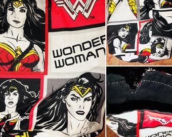 Wonder Woman Dice Bag, coin purse, drawstring bag, DC Comics