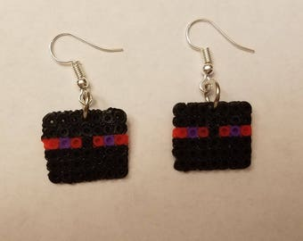 Minecraft Enderman party pack earrings - Set of 8 pairs