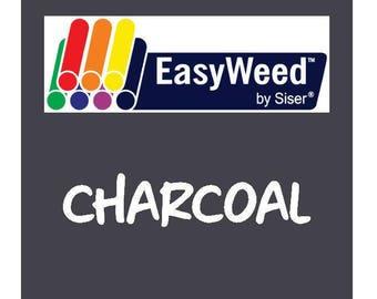 Siser EasyWeed Heat Transfer Vinyl - HTV - Charcoal