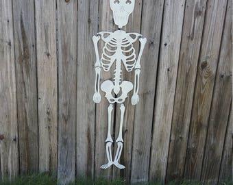 Halloween decor,Halloween yard art,Halloween Skeleton, skeleton