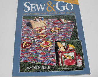 Sew & Go Sewing Book, Sewing Patterns, How To Book
