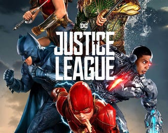 JUSTICE LEAGUE movie poster 11x17