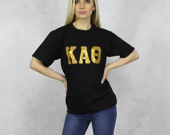 Kappa Alpha Theta T-Shirt in Black
