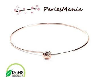 PAX 2 Bracelets Bangle with ball ROSE Gold 6.5 cm S1195580