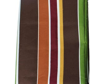 Polyester fabric, 150cm x100cm coupon: striped
