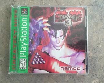Tekken 3 Sony PlayStation 1 (1998) PS1 Greatest Hits
