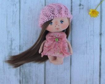 Textile dolls,Handmade dolls,little doll,cloth doll,birthday gift,handicraft doll,Fabric dolls,soft toy,handcrafted doll,figurine