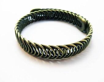 Flexible bracelet color bronze 23cm