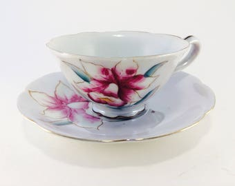 Cup and Saucer, SHAFFORD, Hand Painted, England