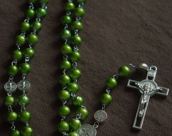 Rosary - Benedictine: Peas on Earth