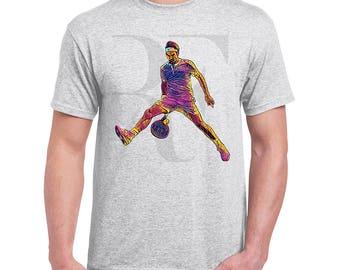 Roger Federer Men's Light Grey Tee T-Shirt Tennis