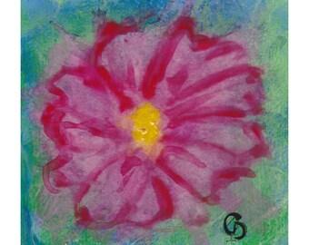 Little Bloom III - original painting
