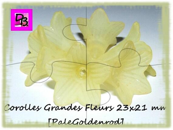 Corolle de fleur 21x23 mm [PaleGoldenrod]