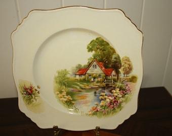 Royal Winton Crimwades plate