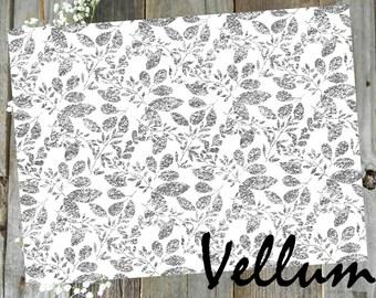 Sparkle // Vellum Printed TN Travelers Notebook Ephemera Planner Decor