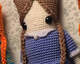 Amigurumi Doll, Crochet Doll by AmigurumiPalooza