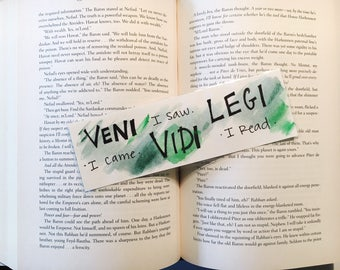 Veni Vidi Legi Bookmark