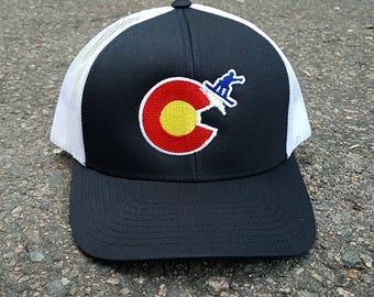 Colorado Snowboarder Hat
