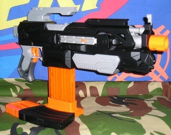 Tactical Nerf Modulus ECS-10 Tamiya motors,re-wire and Blasterparts fly wheels