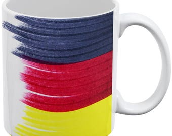 Oktoberfest Color Me German All Over Coffee Mug